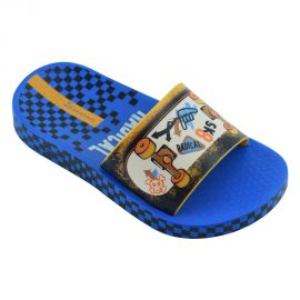 Ipanema Urban Slide Kids Blue Orange